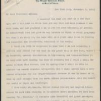 Letter from Helen Keller to Daniel Coit Gilman