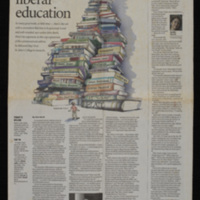 """First page of """"The Tragic View of Liberal Education"""""""