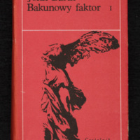 Cover of Bakunowy faktor, volume 1