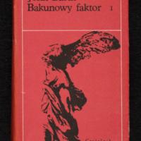 Cover of Bakunowy faktor, volume 1