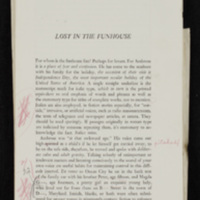 """Corrected galley of """"Lost in the Funhouse"""""""