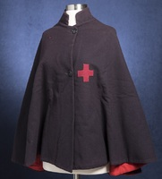Madeline Moysey's Red Cross nurses cape