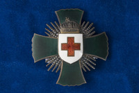 Alice Fitzgerald's Merit Cross of the Hungarian Red Cross
