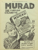 Murad cigarettes advertisement