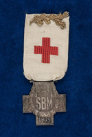 Alice Henderson's Cross of the French Society for the Aid of Wounded Servicemen