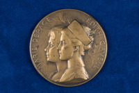 Alice Fitzgerald's Marie Depage and Edith Cavell medals