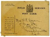 Field Service postcard