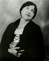 Photograph of Carmela Ponselle as Santuzza in Mascagni's Cavalleria Rusticana