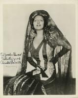 Photograph of Carmela Ponselle as Carmen
