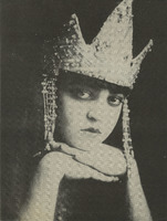 Photograph as Rezia in Weber's Oberon