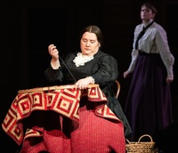 """Felicia Moore as Susan B. Anthony in """"The Mother of Us All"""""""