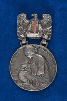 Alice Fitzgerald's Edith Cavell Memorial Nurse medal
