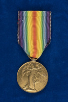 British Inter-Allied Victory medal, to Sister A. Fitzgerald