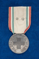 Alice Fitzgerald's Italian Red Cross Medal