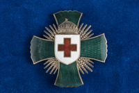 Katherine Olmsted's Merit Cross of the Hungarian Red Cross
