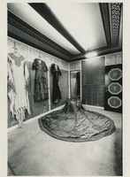 Photograph of Rosa Ponselle's Gowns at Villa Pace, 1982