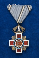 Katherine Olmsted's Estonian Badge of the Red Cross Order