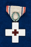 Katherine Olmsted's Norwegian Red Cross Badge of Honor