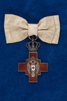 Alice Fitzgerald's Order of the Serbian Red Cross medal