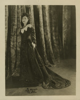 Photograph as Donna Anna in Mozart's Don Giovanni