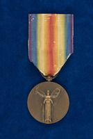Alice Fitzgerald's Inter-Allied Victory medal, French Issue