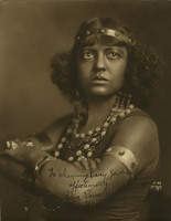 "Photograph of Rosa Ponselle as Selika in ""L'Africaine"" by Meyerbeer"