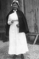 Bessie Baker at Johns Hopkins Base Hospital 18, circa 1917