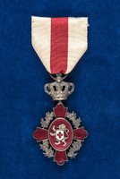 Katherine Olmsted's Order of the Belgian Red Cross medal