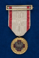 Alice Fitzgerald's Polish Red Cross Nursing Education medal