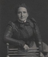 Gertrude Stein as a student at Johns Hopkins