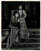Photograph of Rosa Ponselle and Santa Biondo in 'La Notte di Zoraine'