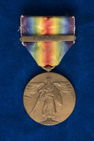 Inter-Allied Victory medal awarded to Lyda King