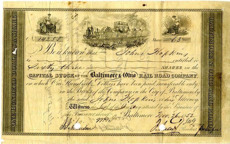 stock document
